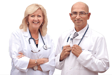 Renea Jones, NP-C and Sanjay Batish, MD